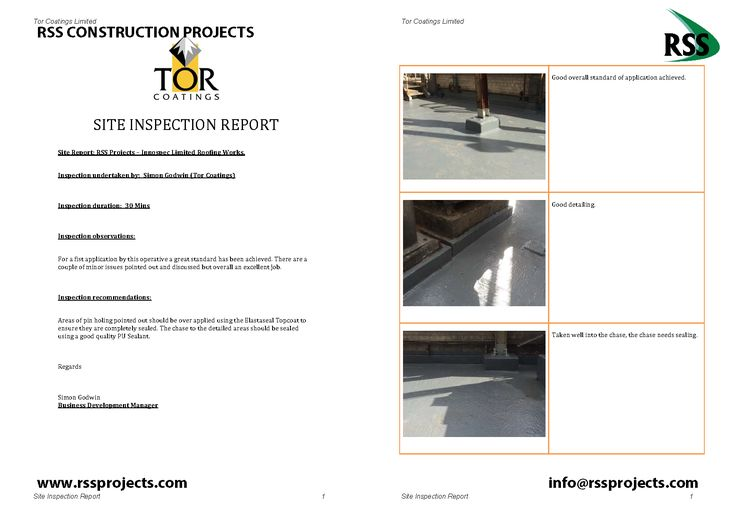 Cold applied flat roof waterproofing in the petrochemical sector