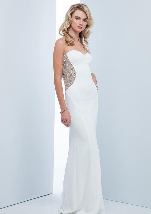 Cabaret Vintage Embellished Sweetheart Strapless Gown By Mignon Al3151 378 00 Http