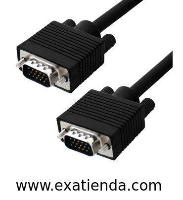 Ya disponible Cable vga 10m m/m   (por sólo 17.99 € IVA incluído):   -CONEX. VGA SUB-D 15 M/M HD 10 MTS -Blindado con el núcleo de ferrita en ambos extremos para la calidad máxima de la señal y evitar interferencias ocasionadas por otros equipos.  Garantía de fabricante  http://www.exabyteinformatica.com/tienda/3660-cable-vga-10m-m-m #audio #exabyteinformatica