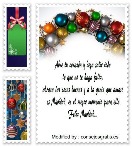 buscar dedicatorias para enviar en Navidad,descargar textos para enviar en Navidad por whatsapp: http://www.consejosgratis.es/frases-lindas-para-tarjetas-navidenas/