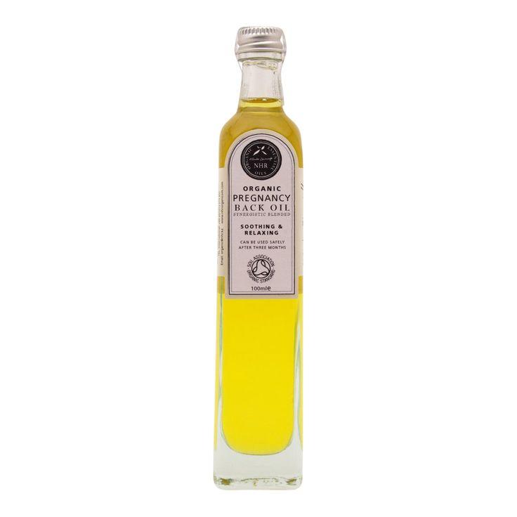 Organic Pregnancy Back Oil