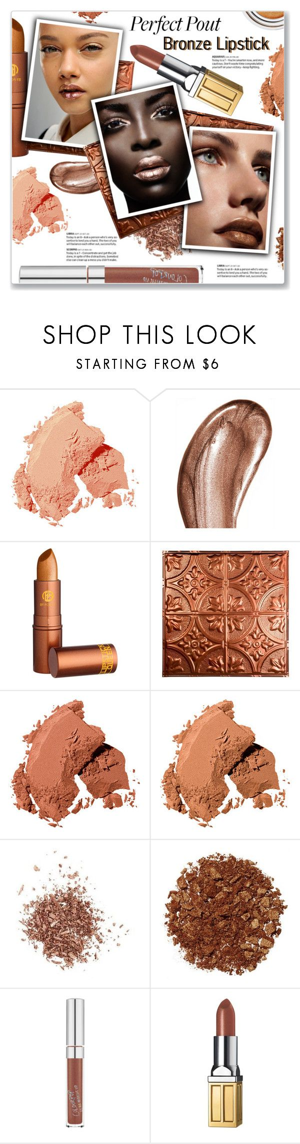 """""""Perfect Pout: Bronze Lipstick"""" by kellylynne68 ❤ liked on Polyvore featuring beauty, Bobbi Brown Cosmetics, Laura Mercier, Lipstick Queen, Christian Dior, Givenchy, Topshop, Illamasqua and Elizabeth Arden"""