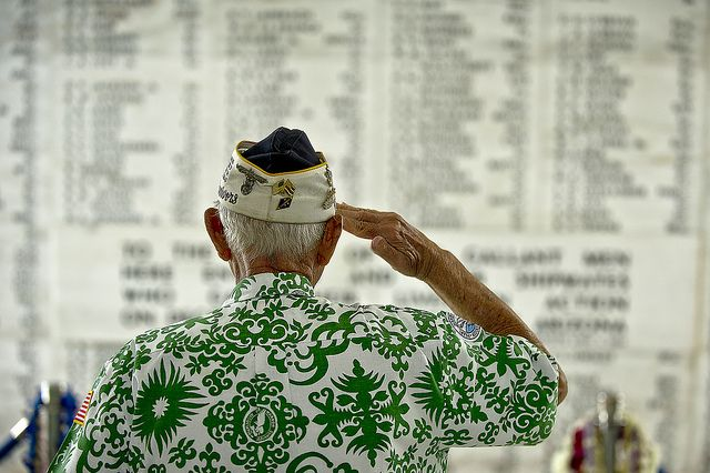USS Arizona Memorial (USA).  'It's hard not to be moved  by the realization you are standing over the watery grave of more than 1000 sailors. Roughly  half of the US servicemen who died during the Pearl Harbor attack on December 7, 1941, were killed on the USS Arizona.' http://www.lonelyplanet.com/usa/honolulu-and-waikiki/sights/monument/uss-arizona-memorial