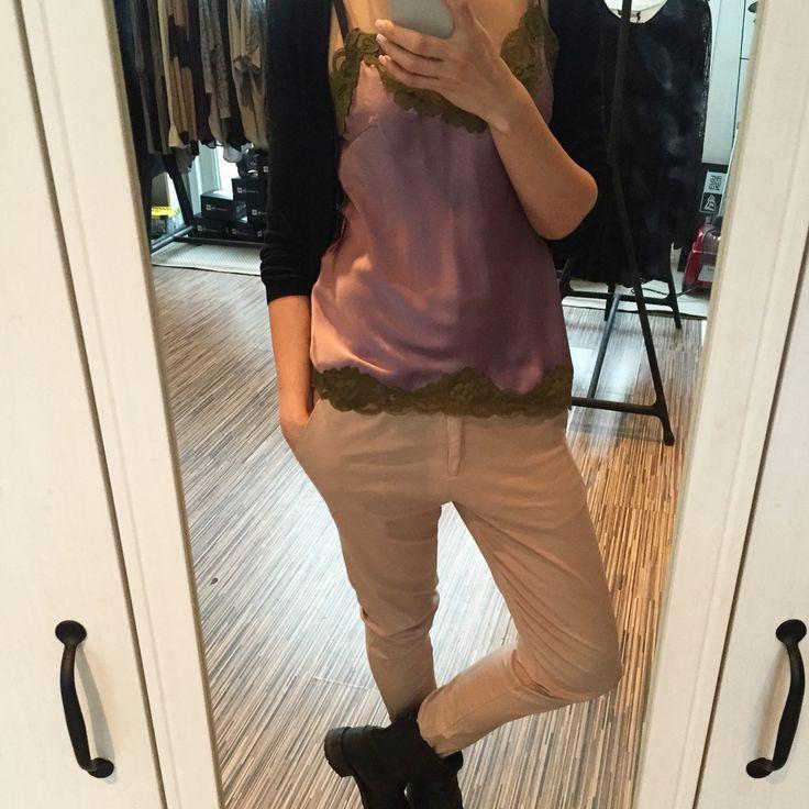 Amazing collection by Gold Hawk at Fashion Addict... ➡️www.fashion-addict.eu#goldhawk#comfort#style#pants#cami#silk#chic#luxery#outfit#wardrobe#fashionblog#fashionlover