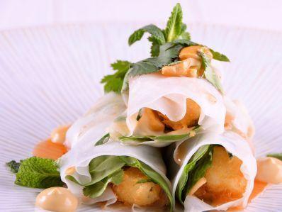 Receta | Rollito de arroz y tofu crocante - canalcocina.es