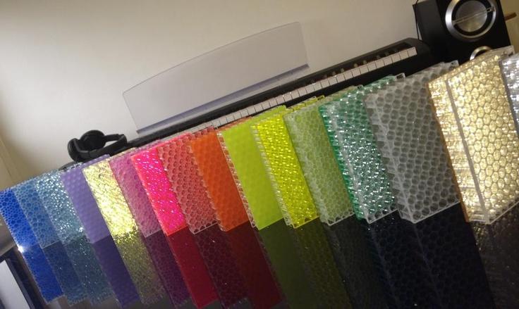 Mykon's polypropylene honeycomb panels: The Airo range