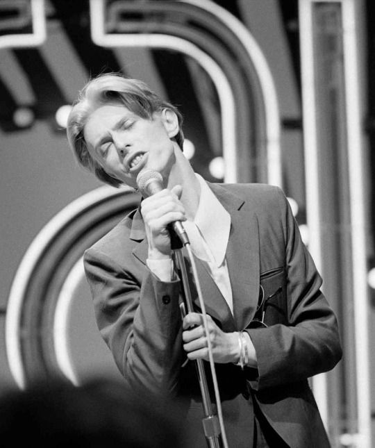 David Bowie on Soul Train, 1975, by Andrew Kent