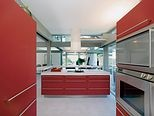 red kitchen?