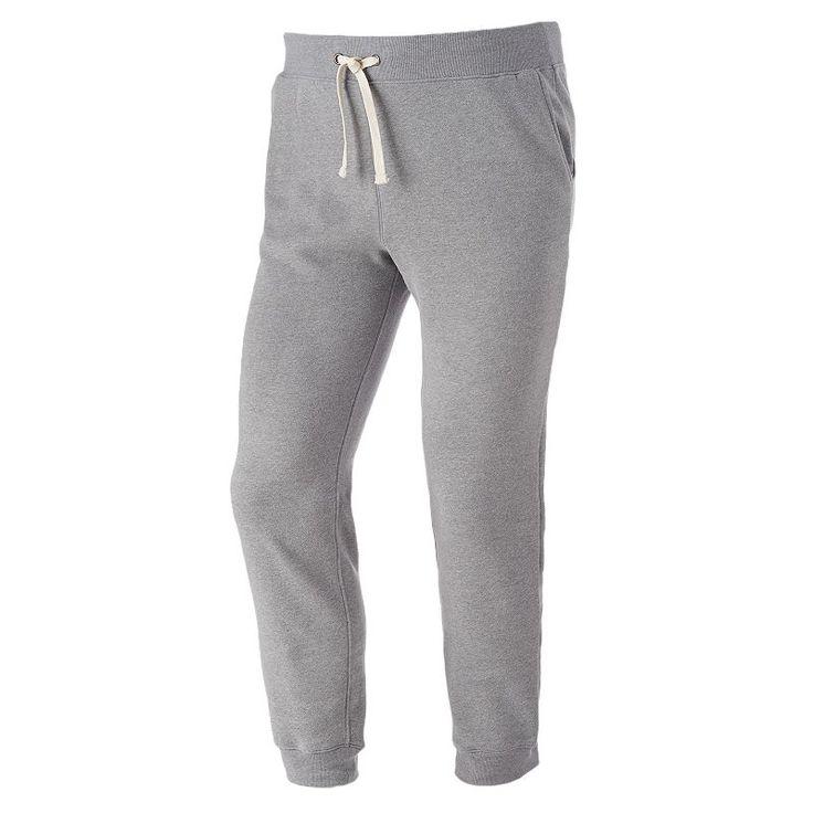 Big & Tall Urban Pipeline® Fleece Jogger Sweatpants, Men's, Size: Xl Tall, Med Grey