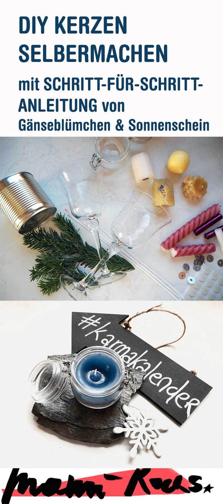 Upcycling Kerzenreste: DIY Kerzen in Gläsern selber herstellen • Mami rocks #upcycling #ausaltmachneu #nachhaltigkeit #kerzen #DIY #basteln