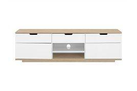 Köp Tv-Bänk Delano 160 Vit/Ek hos Chilli. Hos oss får du hög kvalitet till bra pris. Handla fraktfritt med snabb leverans direkt till dörren - Välkommen!