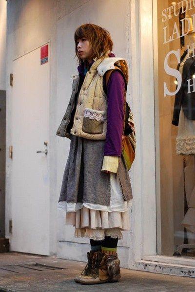 Ecclectic Yama Mori girl
