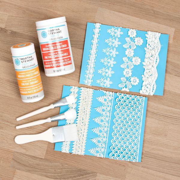 Buy Martha Stewart Fabric Decoupage Kit From