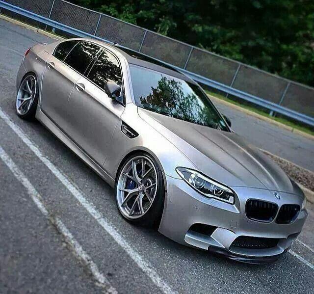 BMW F10 M5 silver