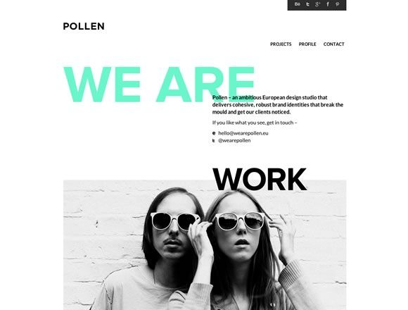 I'm working on a website redesign and found this collection of beautiful portfolio websites from various artists and designers to help guide my creative process.