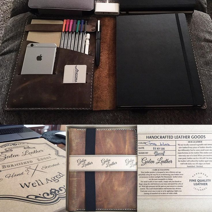 """24 Gostos, 1 Comentários - T (@solum_pacem) no Instagram: """"got my beautiful hand-made from #Istanbul @galen_leather """"iPad Air Pro & Extra Large Moleskine…"""""""