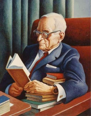 Harry Truman by Thomas Hart Benton born April 15, 1889 in Neosho (Missouri), USA died January 19, 1975 (85) in Kansas City (Missouri), USA