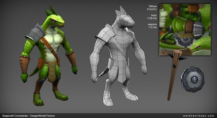 Siegecraft Commander Lizard Brute by mavhn on deviantART