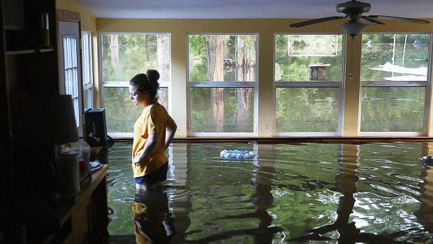 "Climate Change Is Making ""1,000-Year"" Floods Like Louisiana's More And More…"