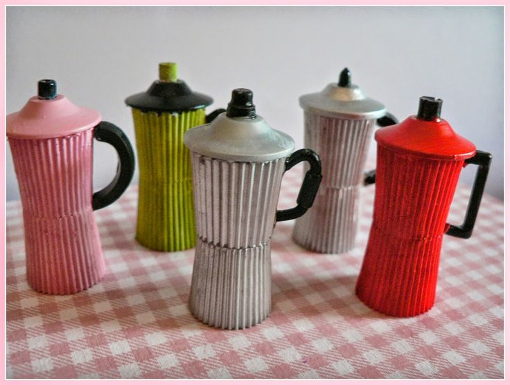 how to: miniature cafetiere