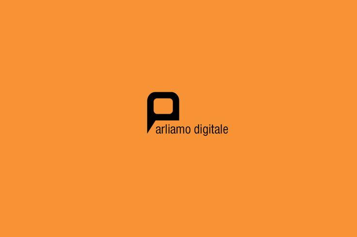 Un nuovo #logo per ParliAMO Digitale   #visual #design #branding