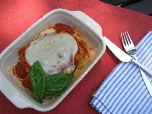 Chicken Parmesan — Recipe created by Beth Hillson of GlutenFreeMakeovers.com