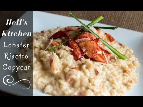 Gordon Ramsay Hell's Kitchen Lobster Risotto Recipe | Bake It With Love