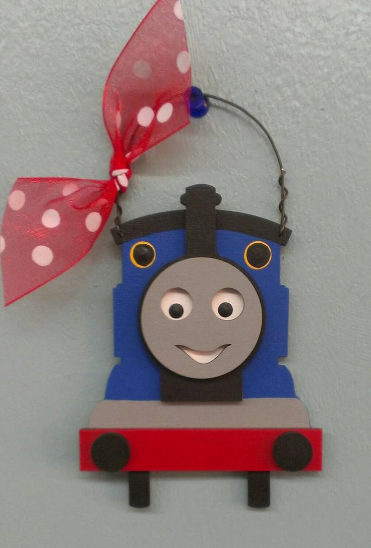 A personal favorite from my Etsy shop https://www.etsy.com/listing/205576159/thomas-the-train-christmas-ornament