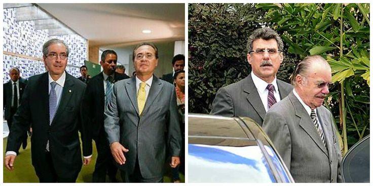 Brasília treme! Renan, Jucá, Sarney e Cunha serão presos por corrupção