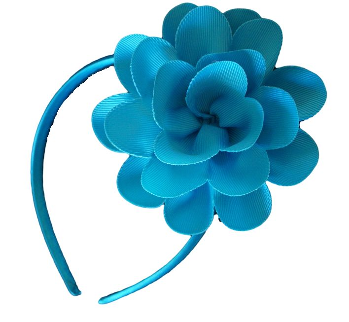 Fantastic Blue Flower Girls Summer Headband. These are very popular and will sell out quickly! Only $3.99 Check out our complete range of headbands at duckids.com.au