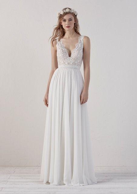gefunden bei Happy Brautmoden, Brautkleid elegant, elegantes Brautkleid, Pronovi… – Vintage Brautkleid Hochzeitskleid