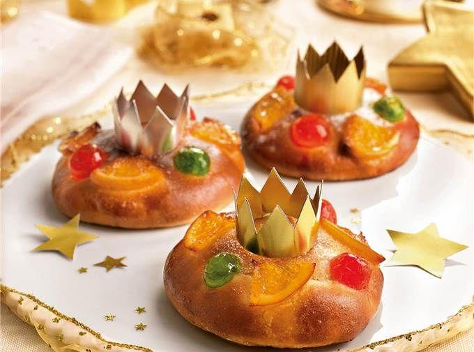 Miniroscones de Reyes muy fáciles de hacer y buenísimos
