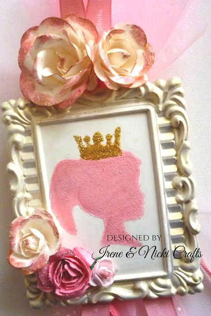 .:    Handpainted Princess Frame Easter Candle| 2018 ...