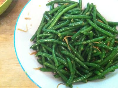 Green beans with ginger butter | Growing it, Eating it-Recipes for a ...
