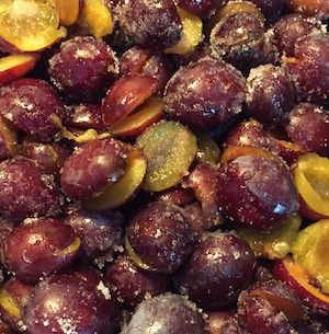 Plums are available in over 2,000 varieties. They are relatives of the peach, nectarine and almond. Italian plums have a sweet, deep flavor. They are rich in vitamin C and they are also a good source of vitamin K, copper, dietary fiber, and potassium. #recipe #cooking #diet #food