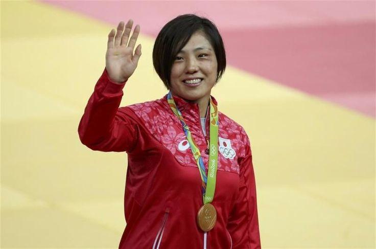 Haruka Tachimoto judo damer -70 kg guld. Silver Yuri Alvear, Colombia brons Sally Conway, Storbritannien och Laura Vargas Koch, Tyskland.