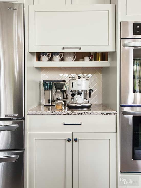 coffee stations worthy of a barista 39 s dreams ovens the gap and the coffee. Black Bedroom Furniture Sets. Home Design Ideas