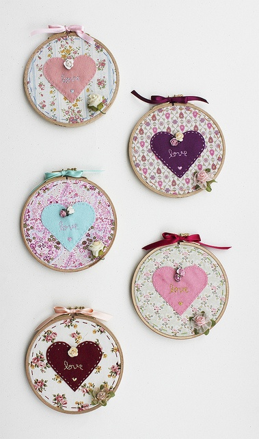 more embroidery hoop ideas