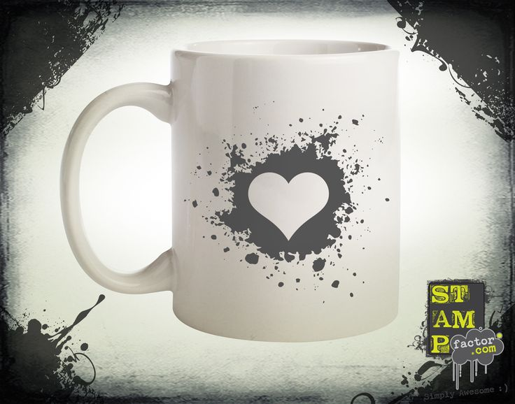 My Valentine (Davy's Grey) 2014 Collection - © stampfactor.com *MUG PREVIEW*