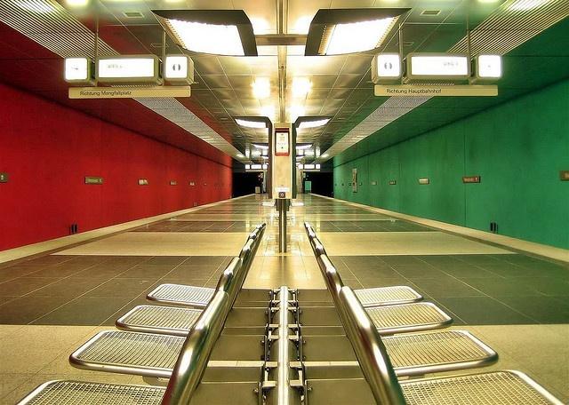 symmetrical photoMunich, Symmetrical Photography, Subway Stations, Amazing Photos Image, Symmetry Photography, Beautiful, Awesome Symmetry, Angled, Photography Magazines