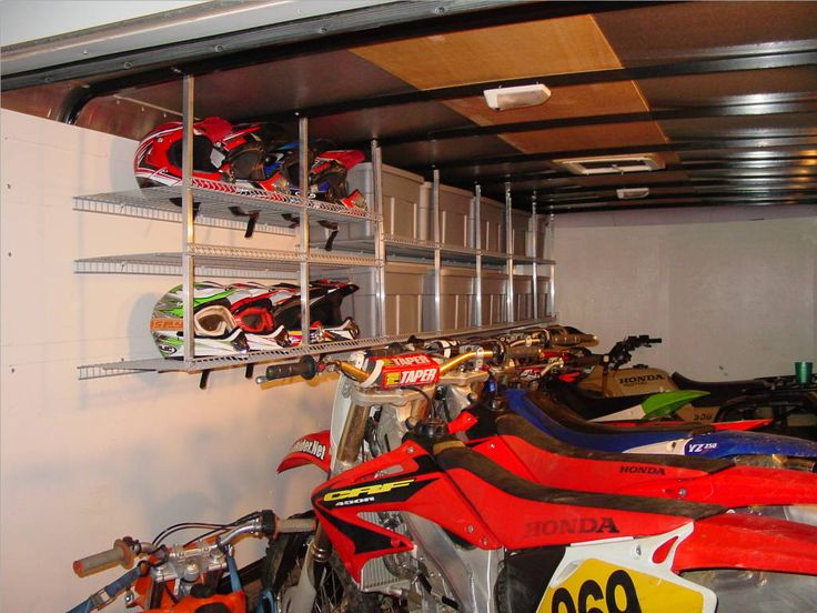 Your Enclosed Trailer Setups Show Em Motorcycle