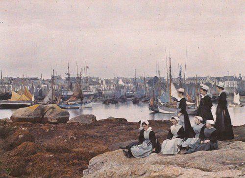 Concarneau (Finistère), 1911, Jules Gervais Courtellemont