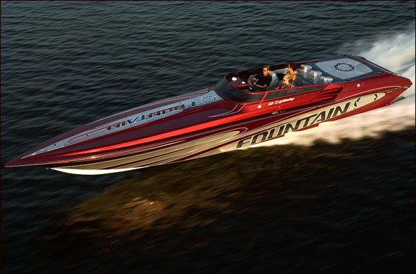 New 2009 Fountain Boats 42 Lightning High Performance Boat
