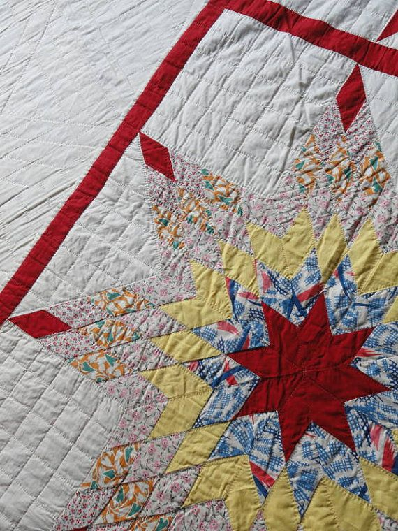 127 best vintage flour and feed sack quilts images on Pinterest ... : flour sack quilt - Adamdwight.com
