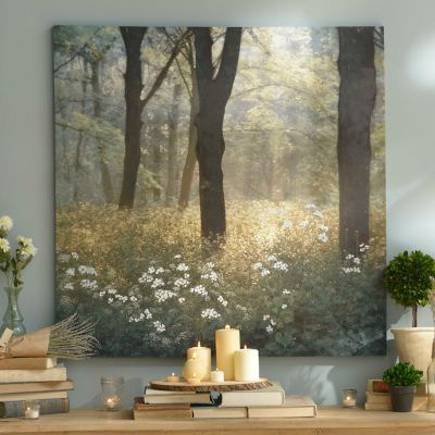 Morning in the forest canvas art print kirklands