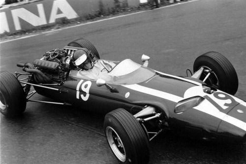 Jochen Rindt (Cooper-Maserati T81) Grand Prix de Belgique -...