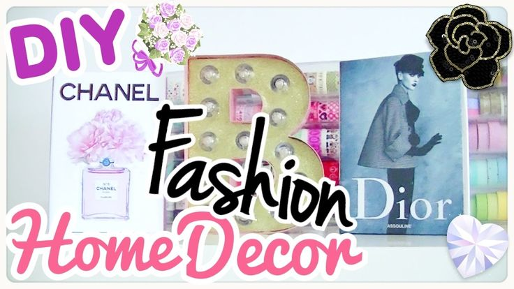 DIY - Room Decor - DECORAZIONI FASHION PER CAMERA E SCRIVANIA