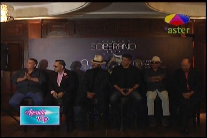 Rueda De Prensa De La Segunda Reunión Con Los Merengueros Nominados A Premios Soberano 2017 Y Sus Declaraciones