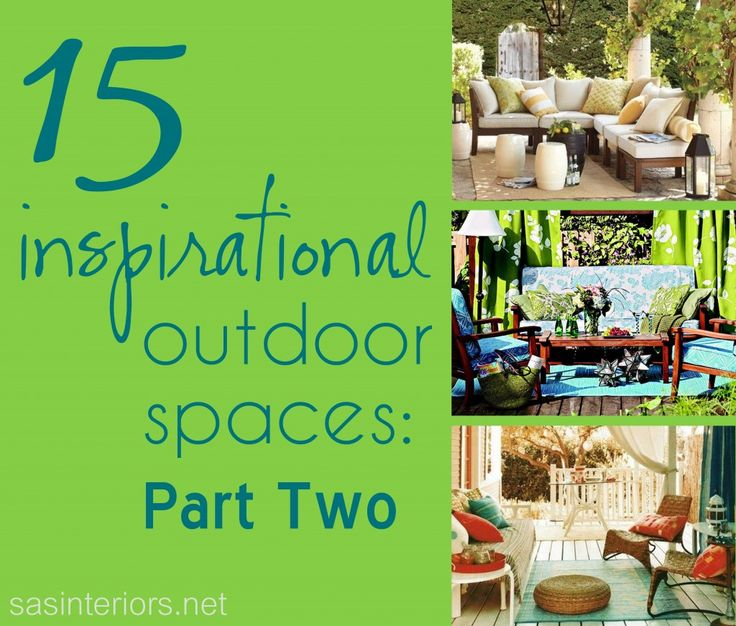 15 Inspirational Outdoor Spaces: Part 2