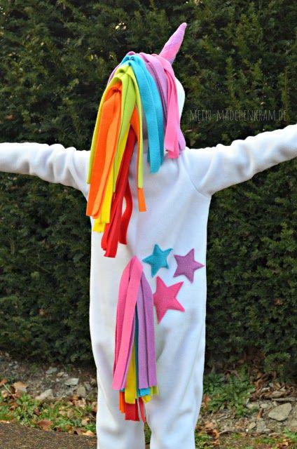 Leni's Dream, Kostüm, Einhorn, Einhornkostüm, Karneval, Fastnacht, Fasching, Regenbogen, Stern, Overall